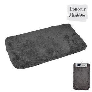 TAPIS DE BAIN  Tapis de bain 100% coton 45x75 xm Anthracite