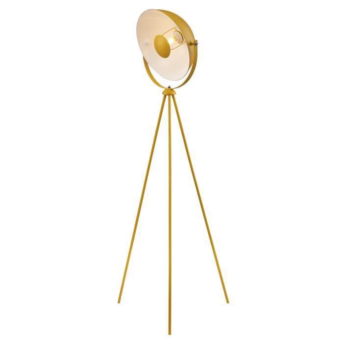 LAMPADAIRE MOVIE Lampadaire trépied - H 148 cm - Tête : Ø 35