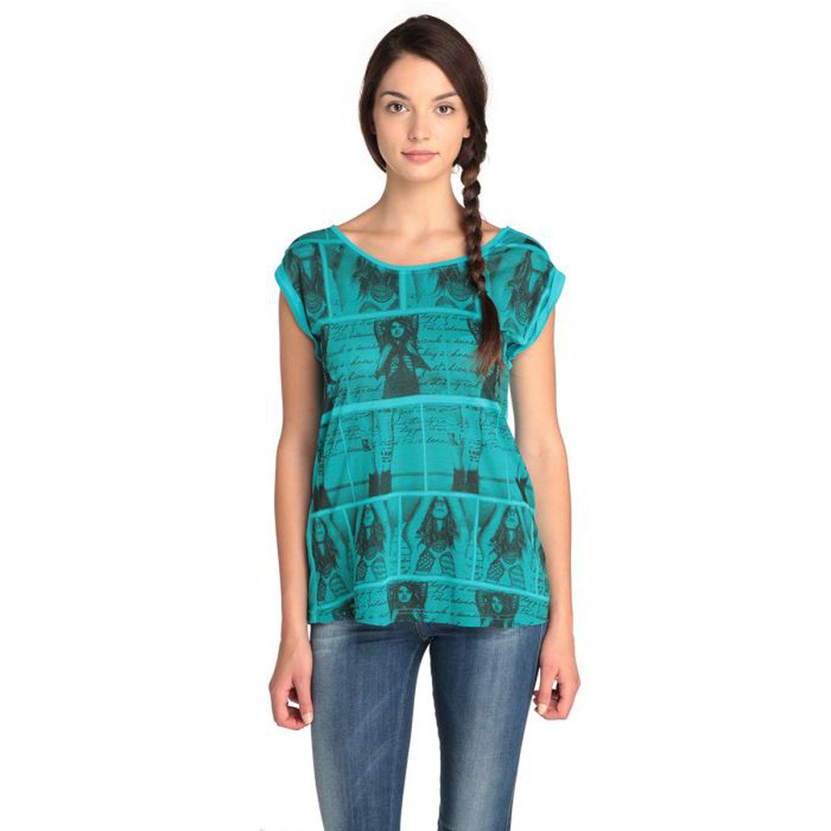 Cdiscount Girl Turquoise Femme Tribu Achat T Shirt Vente rdxeQCBoW