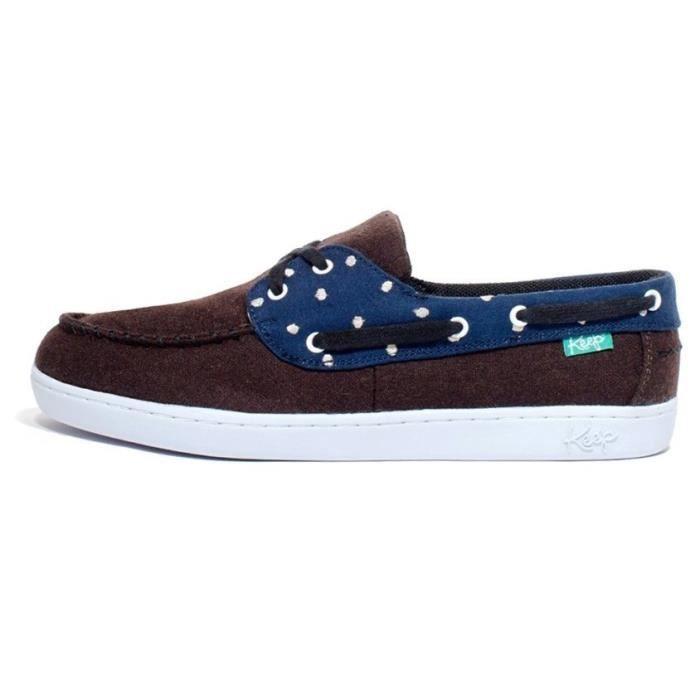 Benten Keep Marron Bleu Bateaux Swiss Chaussures Et Dot Femme nv8NOm0w