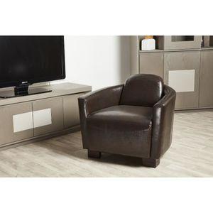 fauteuil club microfibre achat vente pas cher. Black Bedroom Furniture Sets. Home Design Ideas