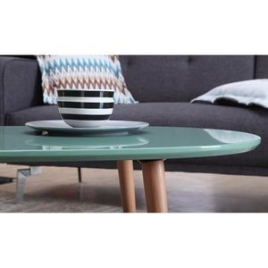 Table basse scandinave achat vente table basse for Table basse scandinave vert d eau
