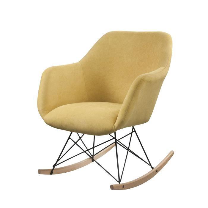 fauteuil moutarde achat vente pas cher. Black Bedroom Furniture Sets. Home Design Ideas
