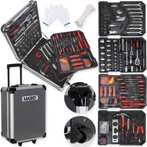 VALISETTE - MALLETTE MASKO Valise multi outils 725 pièces noir