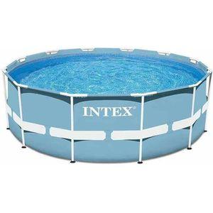 PISCINE INTEX Kit piscinette tubulaire ronde 366x76 cm