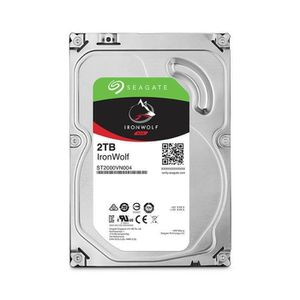 DISQUE DUR INTERNE SEAGATE NAS HDD Iron Wolf 2To 3,5