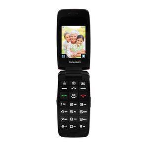 Téléphone portable Thomson Serea 62 Rouge - Téléphone pour Senior
