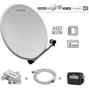 ANTENNE RATEAU TELEFUNKEN T-S802TV Antenne extérieure pack récept