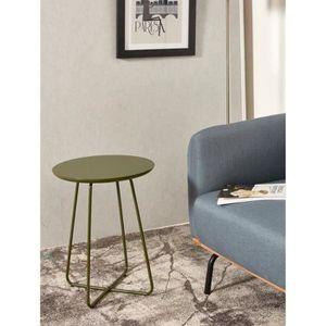TABLE D'APPOINT FELBOUR Table d'appoint style contemporain vert br