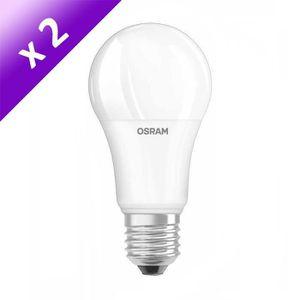 AMPOULE - LED OSRAM Lot de 2 Ampoules LED E27 13 W équivalent à