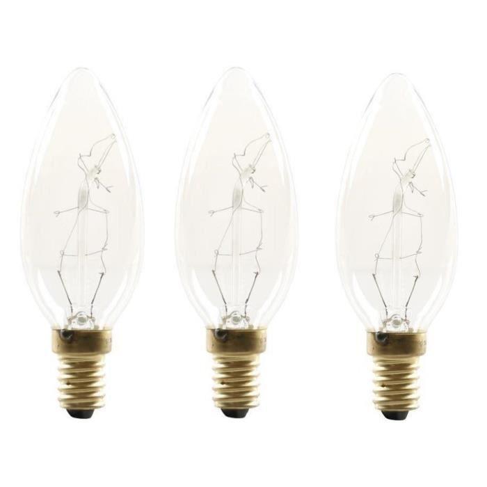 ampoule a incandescence e14 25w achat vente pas cher. Black Bedroom Furniture Sets. Home Design Ideas