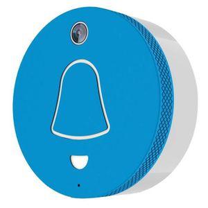 SONNETTE - CARILLON EXTEL Link Carillon connecté WiFi bleu avec caméra