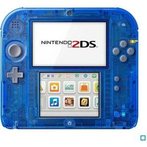 CONSOLE 2DS 2DS Transparente Bleue