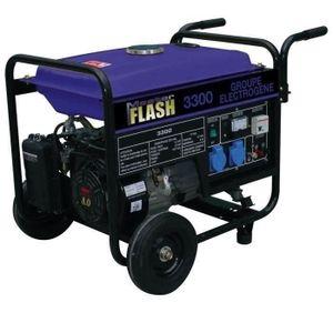 MASTER FLASH Groupe électrog?ne ? essence 3300W avec kit chariot MF3300