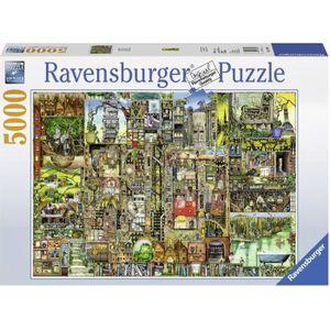Puzzle 5000 pcs Ville Bizarre