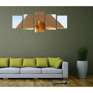 TABLEAU - TOILE Toile déco imprimée - tableau toile: Egypte Sphinx