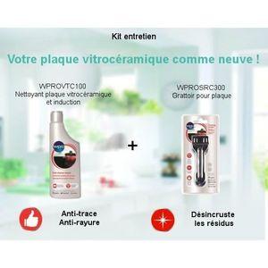 PIÈCE APPAREIL CUISSON Pack Kit Entretien vitrocéramique - Nettoyant plaq
