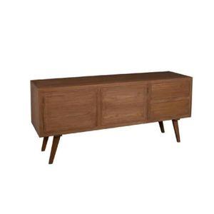 buffet vintage achat vente pas cher cdiscount. Black Bedroom Furniture Sets. Home Design Ideas