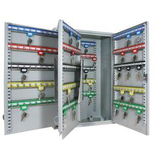 ARMOIRE - BOITE A CLÉ HMF 135300-07 Armoire à clés, 300 crochets, 55 x 3