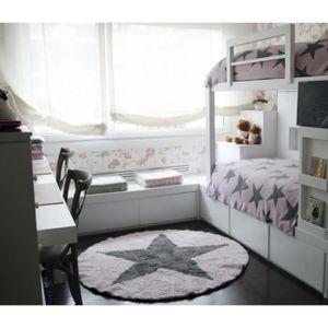 decoration rose et grise achat vente pas cher. Black Bedroom Furniture Sets. Home Design Ideas