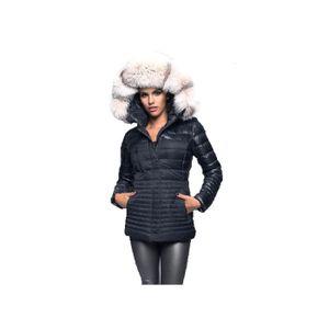 Manteau en cuir pour femme pas cher