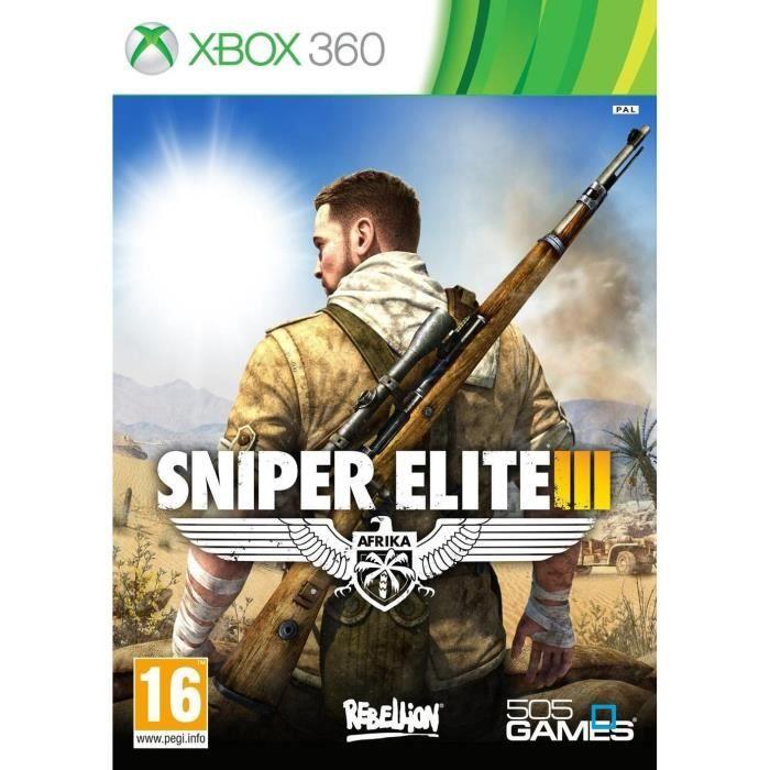 JEUX XBOX 360 Sniper Elite III XBOX 360