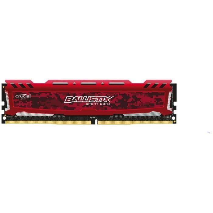 BALLISTIX SPORT LT Mémoire PC KIT - DDR4 - 64GB (16GB*2) - 2400