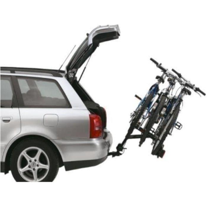 THULE Porte-vélos Ride On sur attelage - 3 vélos - Charge de 45 kg - Noir