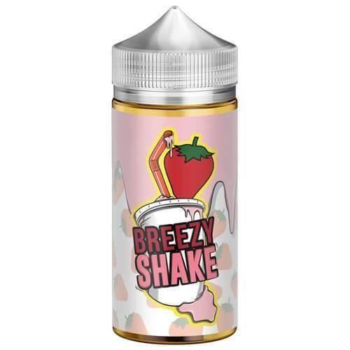Milkshake Goût Breezy Shake E Liquide 100ml Bouteille 0mg