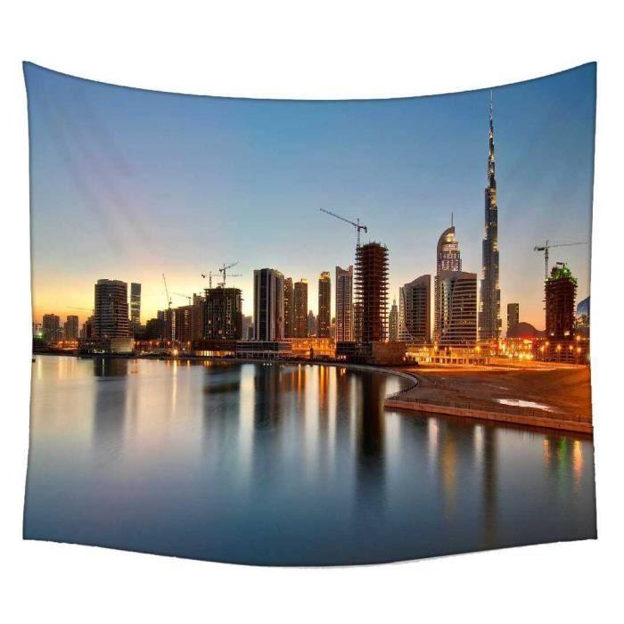 Dubai The Dream City Rideau Mandala - Achat / Vente rideau - Cdiscount