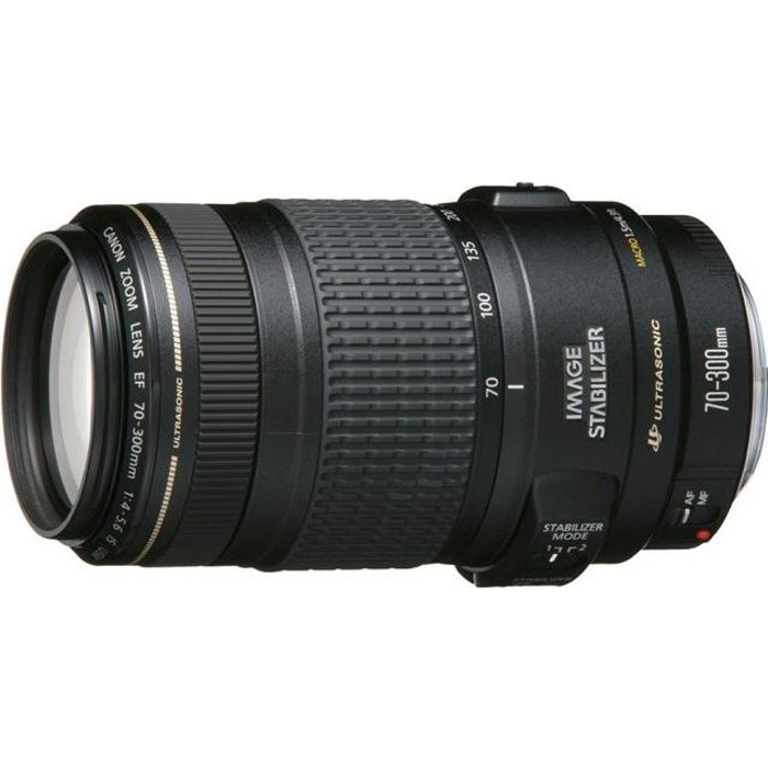 canon zoom 70 300 mm f 4 5 6 is usm achat vente objectif cdiscount. Black Bedroom Furniture Sets. Home Design Ideas