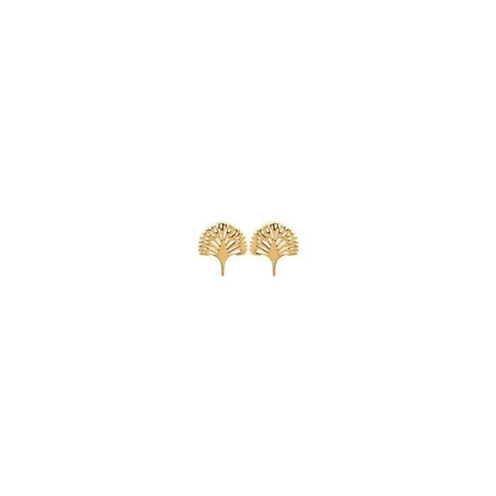 Isady - Adelmina Gold - Boucles doreilles - Plaqué or jaune 18K - Clous doreilles