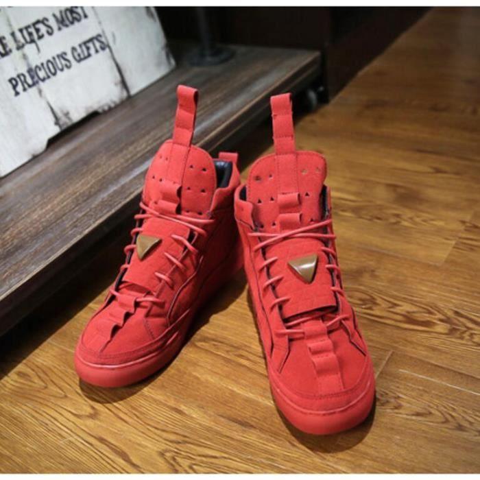 pur fashon couleur Homme LEASURE Chaussures montantes de skate