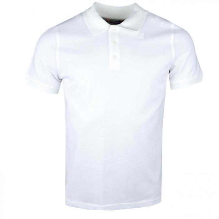 Polo Ralph Lauren blanc crème en coton piqué slim fit pour homme Couleur: Blanc Taille: XL