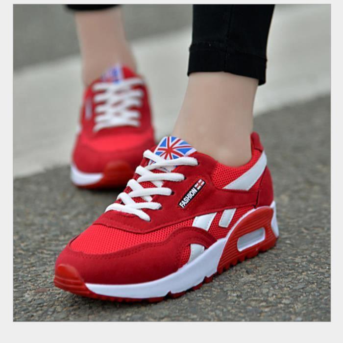 Résistantes Simple L'usure Sneakers Brand De Confortable À Sport Chaussure Femme nbsp;mode Classique 1Hw01X