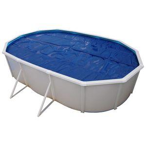 TORRENTE Bâche isotherme pour piscine 640x366cm - Bleue
