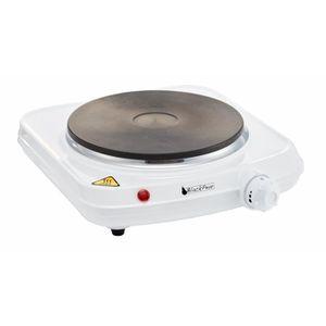BLACK PEAR Plaque de cuisson posable électrique 1 feu 1500W