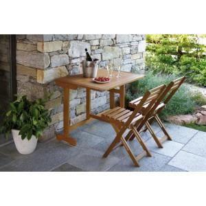 Set Balcony en acacia - Achat / Vente salon de jardin Set Balcony en ...