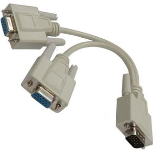 CÂBLE AUDIO VIDÉO Coupleur dédoubleur câble VGA pour écran moniteur