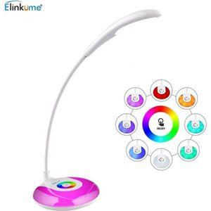 LAMPE A POSER Lampe de Bureau LED 3W RGB Lampe à poser Multicolo