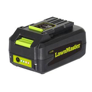 ALIMENTATION DE JARDIN LAWNMASTER Batterie 36 V - Vert et gris
