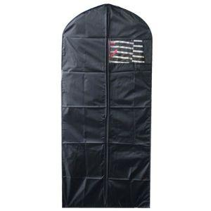 HOUSSE DE RANGEMENT MHOME Housse de vêtement longue Eve 60x135 cm noir