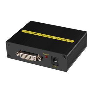 CÂBLE AUDIO VIDÉO 1080P HDMI vers DVI convertisseur avec une sortie