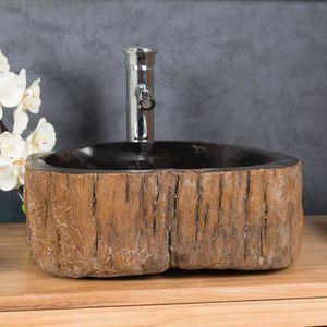 Salle de bain vasque pierre - Achat / Vente pas cher