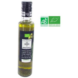HUILE Huile d'olive vierge extra et romarin - 250 ml