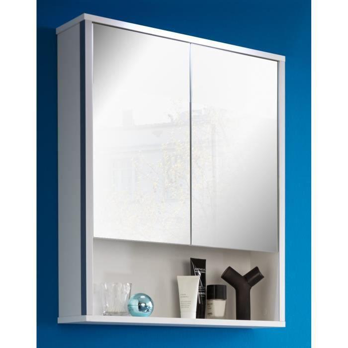 armoire de toilette avec miroir achat vente pas cher. Black Bedroom Furniture Sets. Home Design Ideas