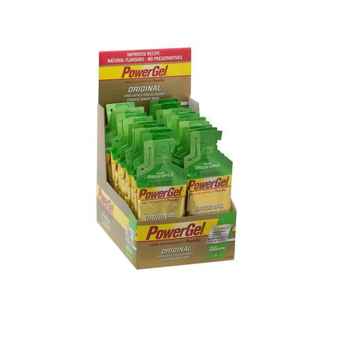 POWERBAR Lot de 24 gels énergétiques - Pomme verte - 41 g