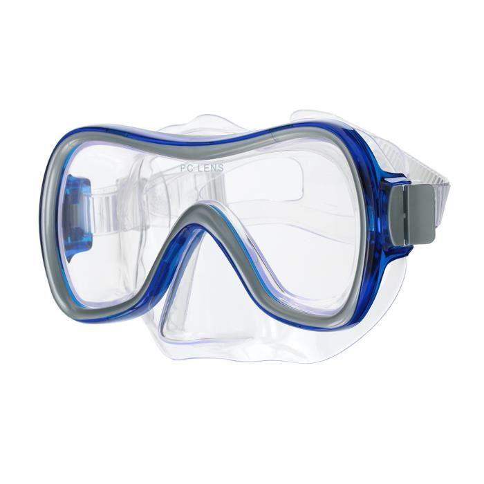 Masque de plongée Aqualook - Bleu