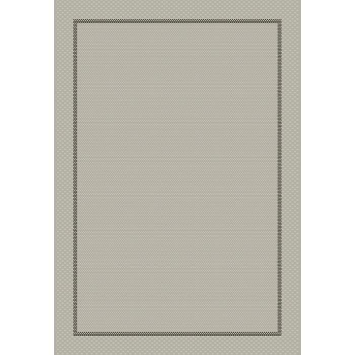 Matière : 100% polypropylène - Dimensions : 160x230 cm - Coloris : grisTAPIS - DESSOUS DE TAPIS