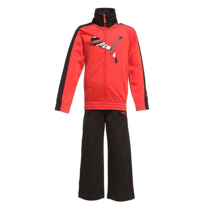 af85d7efb25ab PUMA Survêtement Enfant Rouge et noir - Achat / Vente décoration ...